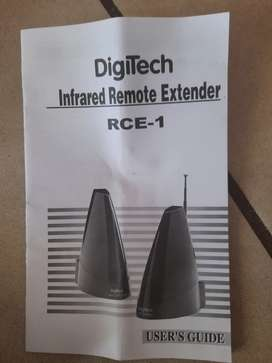 Remote control signal extender