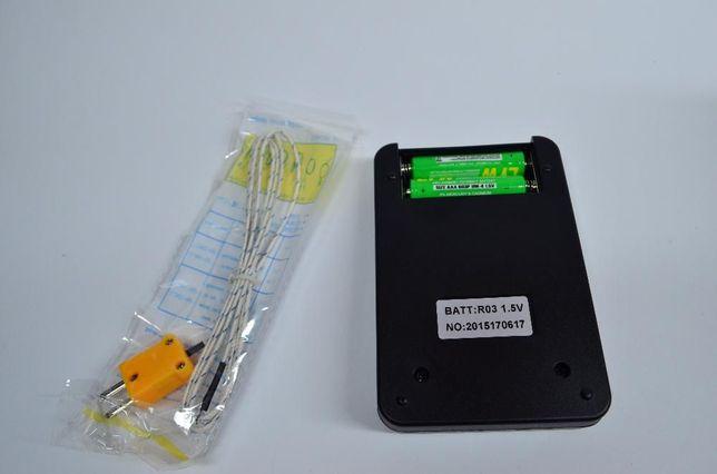 Цифровой термометр TM-902c с термопарой от -50 до1300 град с батар Долина - изображение 2