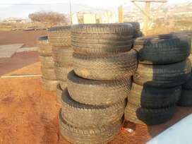Second tyres for bakkies and cars