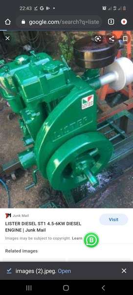 Lister engine wanted