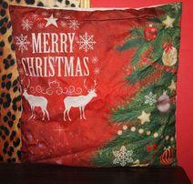 Декоративный чехол на подушку к Новому году и Рождеству