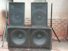 I'm selling two Two and double bassbin
