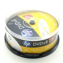DVD+R HP Hewlett-Packard 4,7Gb 16x cake box 25pcs
