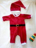 Новорічний новогодний костюм санта клауса
