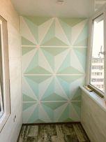 Роспись стен и художественная покраска (минимализм)