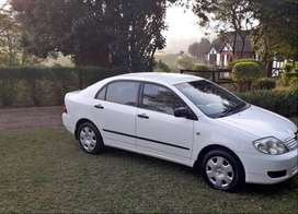2005 Toyota corolla 1600 gle automatic with low mileage for sale