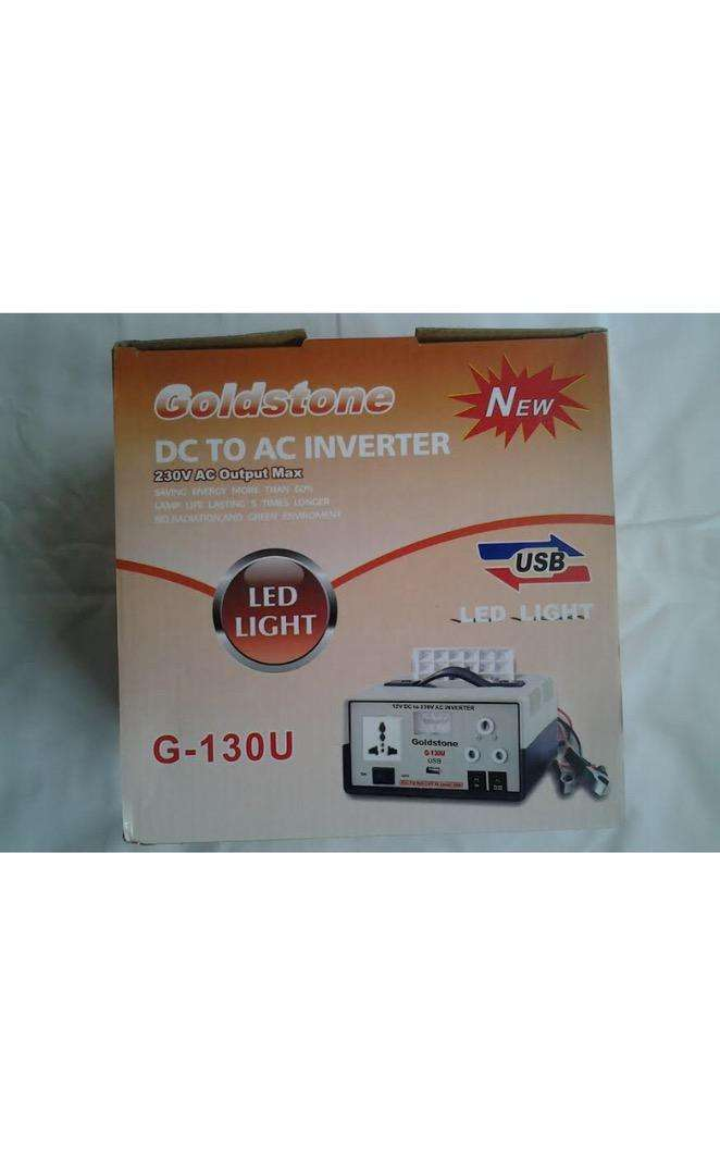 Inverter 130W AC to DC + LED LAMP and 1500W 0