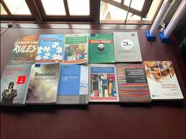 Bachelor of law text books