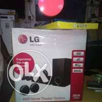 LG 300W DVD Home Theater System with 5 speakers 0