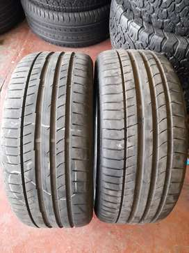 2x Good Used 225/40/R18 Continental Quality Tyres