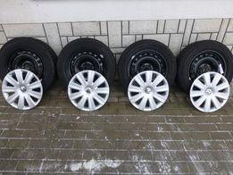 Nowe Koła zimowe VW SHARAN TIGUAN 16'' CONTINENTAL 2016 Rok + Kołpaki