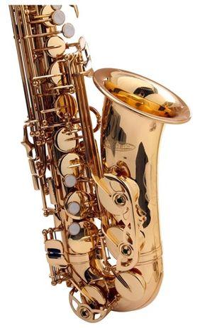 NOWY Sakskofon altowy niemiecki Kirstein złoty M408 Zgorzelec - image 6