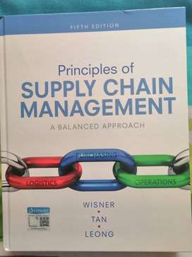 Principles of supply chain management 5th edition