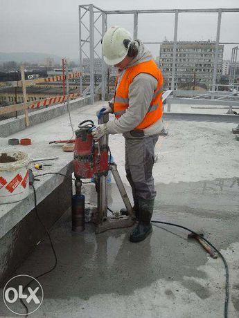 Instalacje, przyłącza projekty wod kan i gaz c.o przewierty w betonie Jerzmanowice - image 3