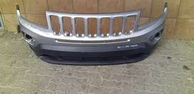 UP FOR SALE IS A JEEP COMPASS FRONT BUMPER AVAILABLE