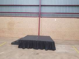 Stage hire from R300 special prices