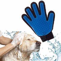 Перчатки Pet Brush Glove для снятия шерсти с животных