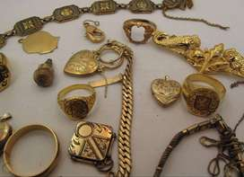 CLEANING OUT YOUR JEWELLERY BOX WE BUY GOLD