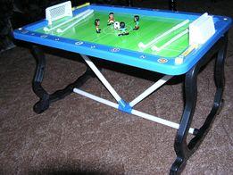 Gra piłkarska dla dzieci, magnetyczna, stół piłkarski piłkarzyki, uszk