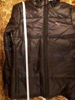 Kurtka PUMA rozmiar 152 cm czarna dla niskiej osoby lub nastolatki