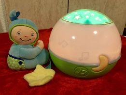 Chicco музичний нічник-проектор