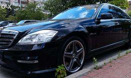 Машина на Свадьбу авто с Водителем Прокат Аренда W221 Мерседес S65 AMG