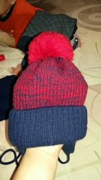 Шапка зима+шарф +варешки