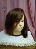 Продам парик из натуральных волос, шатен