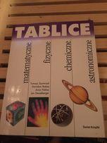Tablice matematyczne, fizyczne, chemiczne, astronomiczne. Ś wiat Książ
