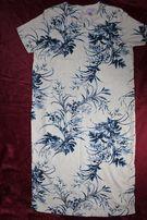 Платье туника сарафан бежевое с узорами, большой размер,ИНДОНЕЗИЯ