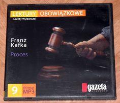 Sprzedam audiobook MP3 Franz Kafka Proces stan idealny