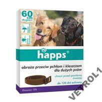 Happs obroża pchły i kleszcze dla dużych psów 60cm