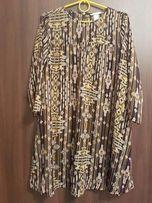 Sukienka mgiełka na podszewce H&M, rozmiar 36