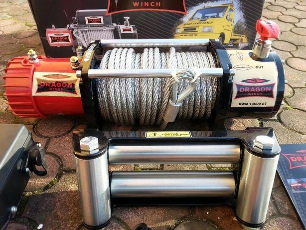 Wyciągarka, wciągarka samochodowa Dragon Winch DWM 13000 ST 12V 6/12T Dobra - image 2