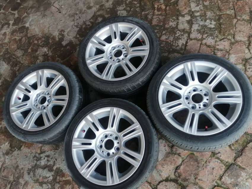 Bmw 17 inch motorsport mags 0