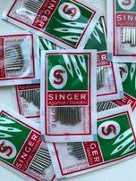 Иглы Singer для большинства бытовых швейных машин размер 70/9 10 шт