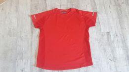 Koszulka sportowa męska czerwona rozm.XL