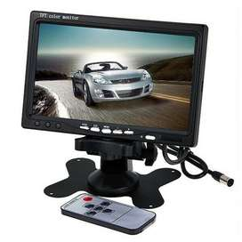 Vehicle 7inch TFT LED High Resolution Display Monitor Screen and More