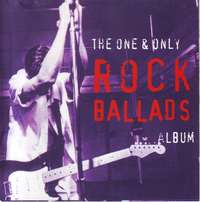 Image of The One And Only Rock Ballads Album (CD)
