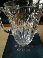 Kryształ dzban Bohemia oryginał