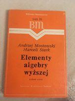 Elementy algebry wyższej B.M. 16