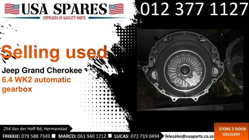 Jeep Grand Cherokee 6.4 WK2* 2011-19 used auto gearbox for sale  2