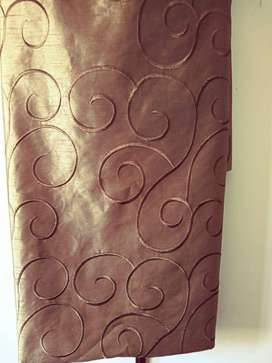 Taped Curtains(2 pck)