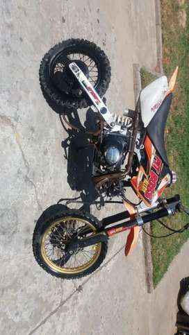 Looking for a 125cc big boy dirt bike or any reasonable size