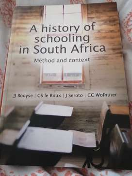 A history of schooling in South Africa