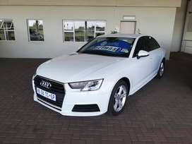 Audi A4 1.4T S Tronic, white. It has done 39000km.