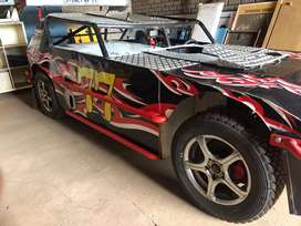 Flexi Oval race car for V8