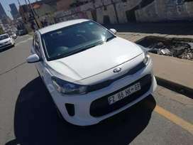 Kia rio new shape 2017 for sale in very good condition