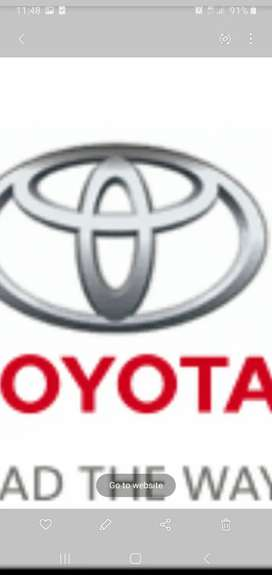 Toyotas wanted