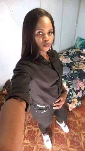 Young energetic young lady looking for a job.